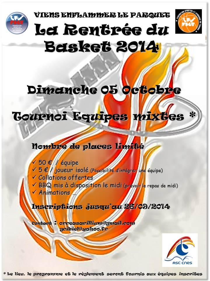 La rentrée du basket 2014