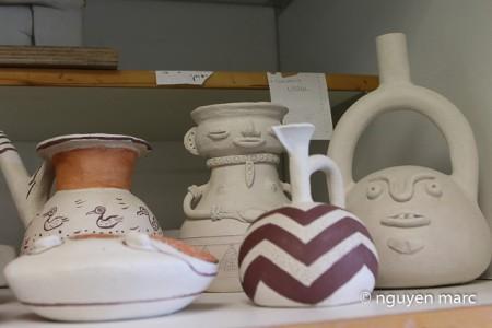 Céramique, série précolombienne (photo Marc Nguyen)