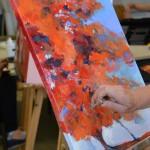 Les outils des peintres (photos Guy Mouilhayrat)