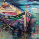 Barque colorée - G.Bordet